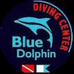 Diving Center Blue Dolphin Logo